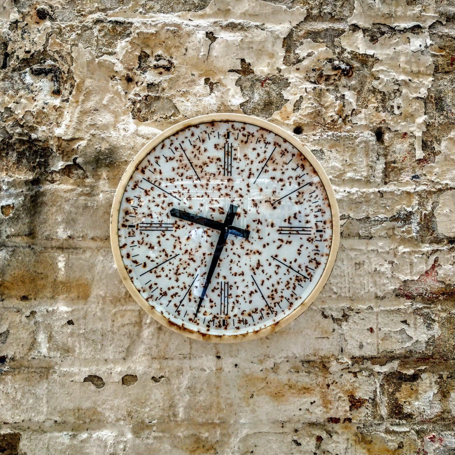 German clock by Bürk