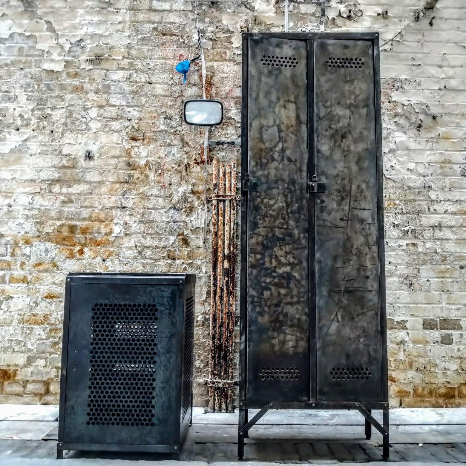 industrial cabinets by Otto Brückner